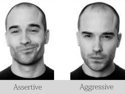 assertive-aggressive
