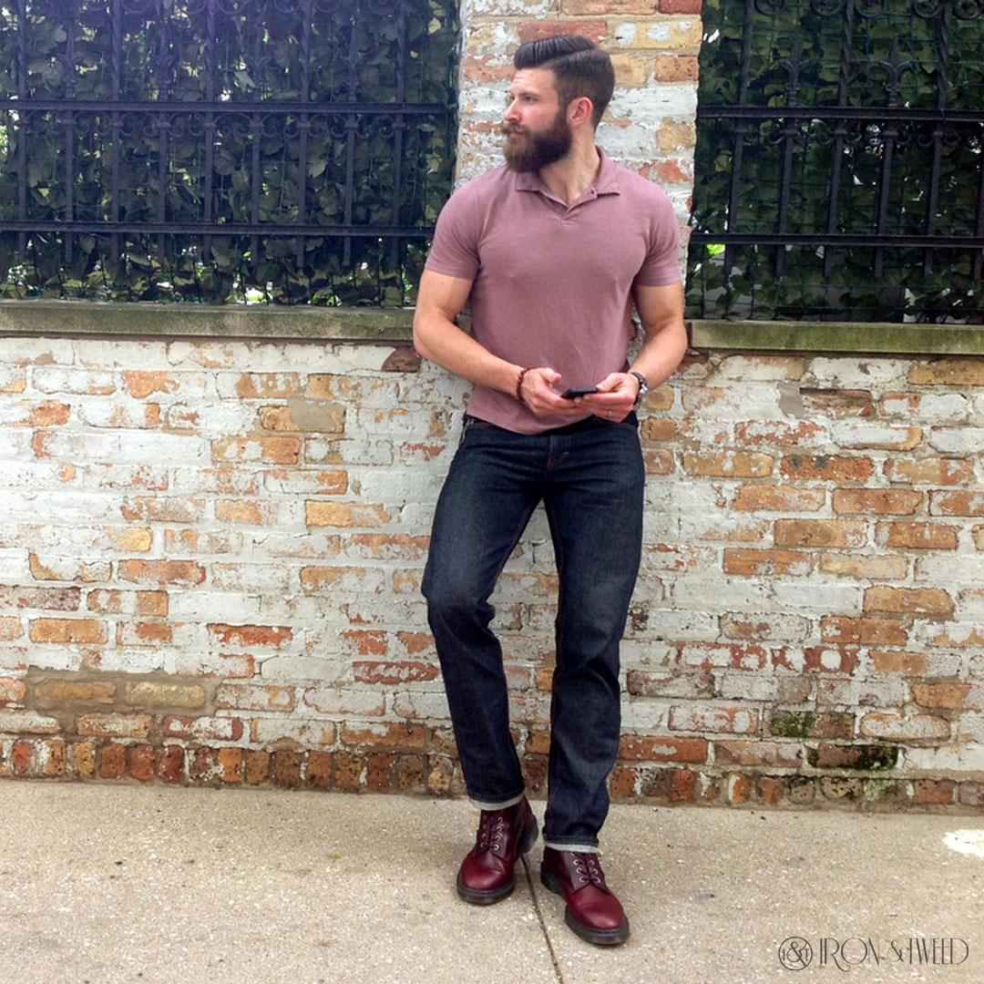 How To Wear Docs Mod Fashion Men